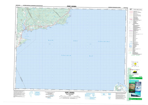 022A02 Port Daniel Canadian topographic map, 1:50,000 scale