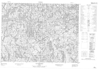 022E01 Lac Portneuf Canadian topographic map, 1:50,000 scale