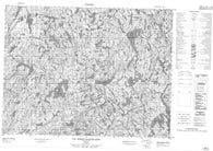 022E02 Lac Maria Chapdelaine Canadian topographic map, 1:50,000 scale