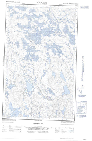 023A06W No Title Canadian topographic map, 1:50,000 scale