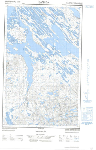 023A07E No Title Canadian topographic map, 1:50,000 scale