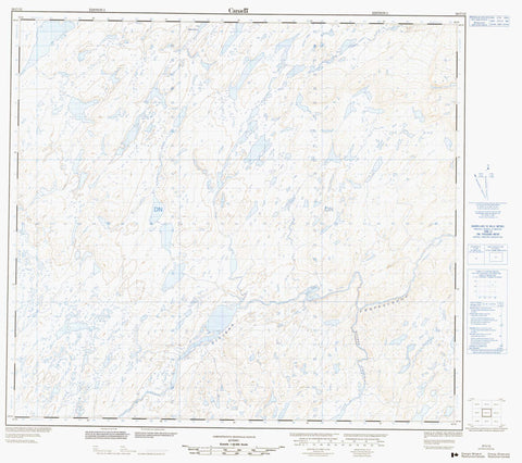 024C12  Canadian topographic map, 1:50,000 scale