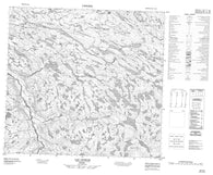 024I03 Lac Ijurvik Canadian topographic map, 1:50,000 scale