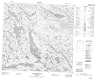 024I06 Mt Nuvulialuk Canadian topographic map, 1:50,000 scale