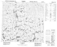 024I07 Lac Brumath Canadian topographic map, 1:50,000 scale