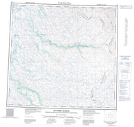 024I Riviere Koroc Canadian topographic map, 1:250,000 scale