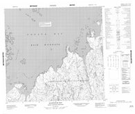 024J06 Alukpaluk Bay Canadian topographic map, 1:50,000 scale