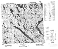 024J08 Iles Qikirtaaluit Canadian topographic map, 1:50,000 scale