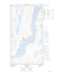024K01W Kuujjuaq Canadian topographic map, 1:50,000 scale
