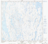 024K07 Lac Diana Canadian topographic map, 1:50,000 scale