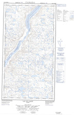 024L09W Lac Du Canot Canadian topographic map, 1:50,000 scale from Quebec Map Store