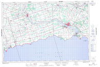 030L13 Dunnville Canadian topographic map, 1:50,000 scale