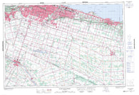 030M04 Hamilton Grimsby Canadian topographic map, 1:50,000 scale