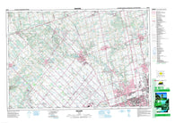 030M13 Bolton Canadian topographic map, 1:50,000 scale