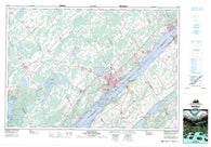 031B12 Brockville Canadian topographic map, 1:50,000 scale