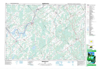 031B13 Merrickville Canadian topographic map, 1:50,000 scale