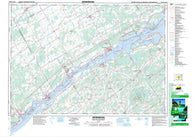 031B14 Morrisburg Canadian topographic map, 1:50,000 scale