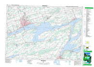 031C03 Belleville Canadian topographic map, 1:50,000 scale