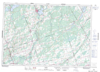 031C06 Tweed Canadian topographic map, 1:50,000 scale