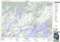 031C08 Gananoque Canadian topographic map, 1:50,000 scale