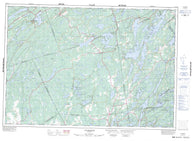 031C10 Tichborne Canadian topographic map, 1:50,000 scale