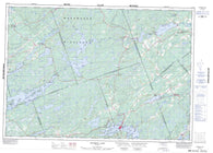 031C15 Sharbot Lake Canadian topographic map, 1:50,000 scale