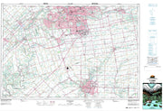 040I14 St Thomas Canadian topographic map, 1:50,000 scale from Ontario Map Store
