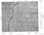 043C13 No Title Canadian topographic map, 1:50,000 scale from Ontario Map Store