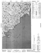 046E10 Umiijarvik Point Canadian topographic map, 1:50,000 scale from Nunavut Map Store