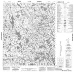 046E11 No Title Canadian topographic map, 1:50,000 scale from Nunavut Map Store