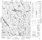 046E13 No Title Canadian topographic map, 1:50,000 scale from Nunavut Map Store