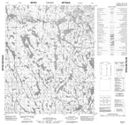 046E14 No Title Canadian topographic map, 1:50,000 scale from Nunavut Map Store