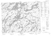 052J16 Mccrea Lake Canadian topographic map, 1:50,000 scale from Ontario Map Store
