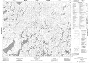 052N11 Pringle Lake Canadian topographic map, 1:50,000 scale from Ontario Map Store