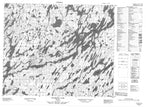 053A16 Wapikopa Lake Canadian topographic map, 1:50,000 scale from Ontario Map Store