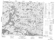 053D03 Little Grand Rapids Canadian topographic map, 1:50,000 scale