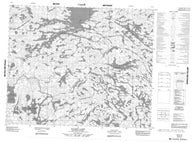053D11 Kagipo Lake Canadian topographic map, 1:50,000 scale
