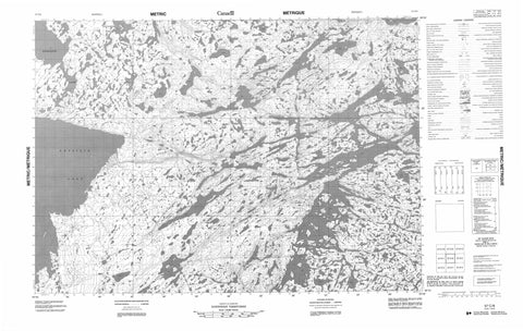 057C08 No Title Canadian topographic map, 1:50,000 scale
