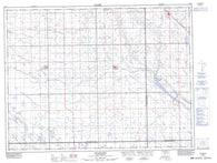 062E05 Goodwater Canadian topographic map, 1:50,000 scale