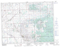 062E15 Handsworth Canadian topographic map, 1:50,000 scale