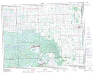 062E16 Dumas Canadian topographic map, 1:50,000 scale