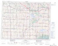 062F Virden Canadian topographic map, 1:250,000 scale