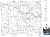 062L01 Langbank Canadian topographic map, 1:50,000 scale