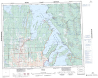 062P Hecla Canadian topographic map, 1:250,000 scale