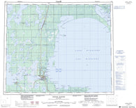 063G Grand Rapids Canadian topographic map, 1:250,000 scale