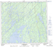 064D12 Macoun Lake Canadian topographic map, 1:50,000 scale from Saskatchewan Map Store