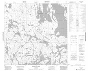 064O02 Schacht Lake Canadian topographic map, 1:50,000 scale from Manitoba Map Store