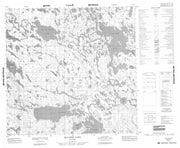 064P04 Macleod Lake Canadian topographic map, 1:50,000 scale from Manitoba Map Store