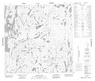 065D05 Meyrick Lake Canadian topographic map, 1:50,000 scale