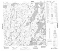 065D06 Dehoux Bay Canadian topographic map, 1:50,000 scale